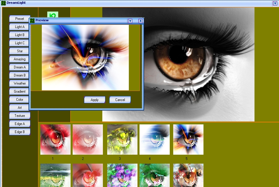 Dream Light Photo Editor Free Download